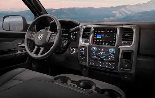 2020 Ram 2500 Power Wagon Mojave Interior