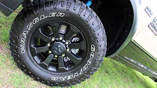 2020 Ram 2500 Power Wagon Mojave wheels