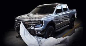 2021 Ford Ranger leaked image