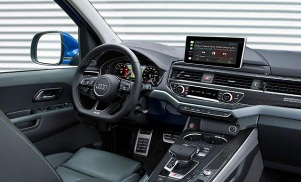 Audi truck interior