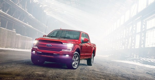 2020 Ford F-150 All-Electric Pickup Truck