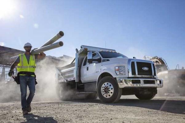 2021 Ford F-650 and F-750 Medium Duty Trucks