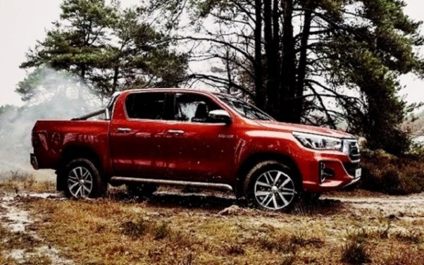 2021 Toyota Hilux rugged x