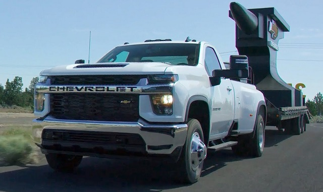 2021 Chevy Silverado HD dually
