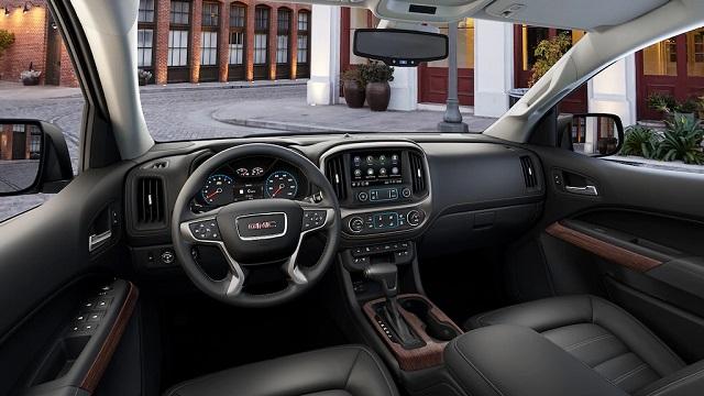2021 GMC CAnyon denali interior