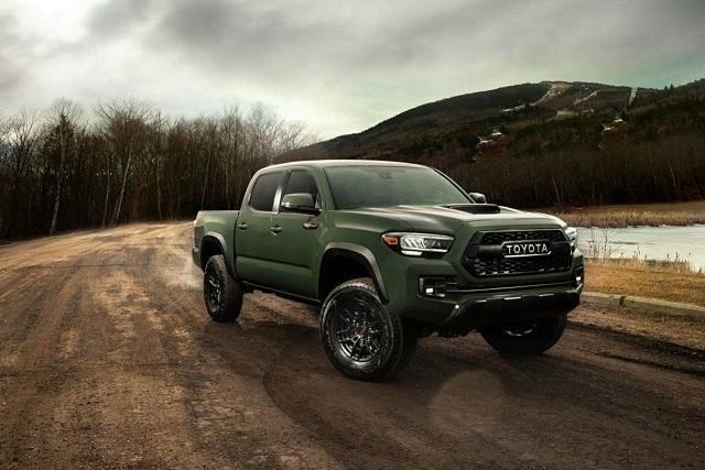 2021 Toyota Tacoma Diesel trd pro