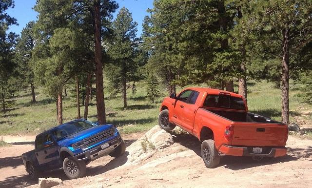 2021 Toyota Tundra TRD Pro vs Ford Raptor