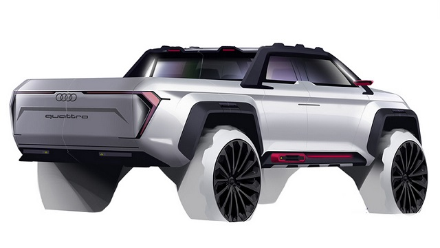 2021 Audi truck concept