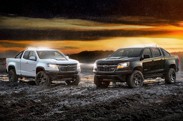 2021 Chevy Colorado ZR2 vs z71