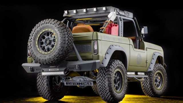 2024 Ford Bronco Truck concept