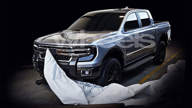 2022 Ford Ranger raptor
