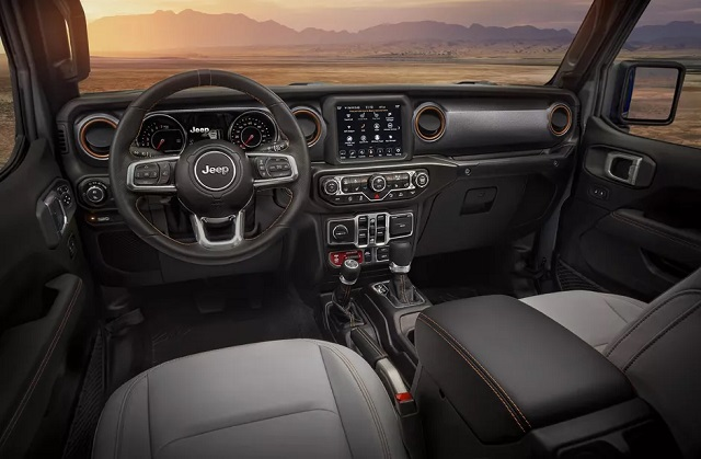 2022 Jeep Gladiator interior