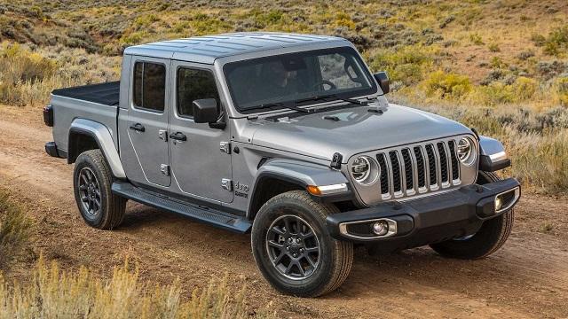 2022 Jeep Gladiator Diesel Specs