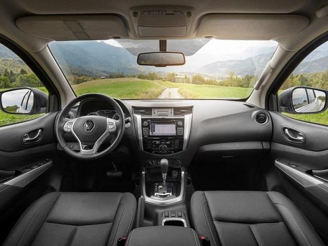 2022 Renault Alaskan interior
