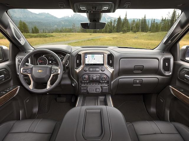 2022 Chevy Silverado 1500 diesel interior
