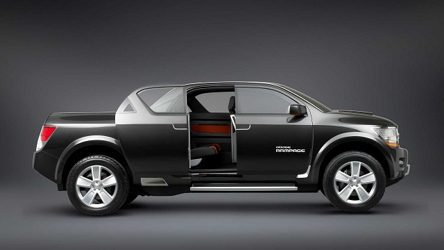 2022 Dodge Rampage concept