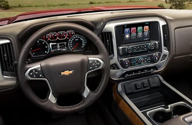 2022 Chevy Silverado 3500 interior