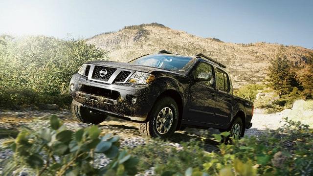 2022 Nissan Frontier Pro-4X off road