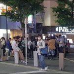 【悲報】コロナ渦の都心、買い物帰りのアニメファンが夜の公園に大量に集まってきて密集状態に