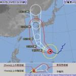 台風10号、6‾7日に九州に接近・上陸の恐れ 特別警報の可能性も