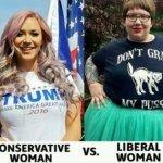 【女性・画像あり】 保守とリベラルの違いがこちらwwwwwwwwwwwwwwwwwwwww