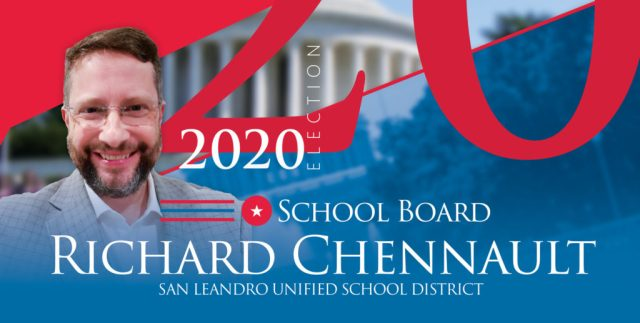 Chennault for San Leandro School Board