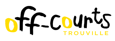 Off-Courts logo Trouville jaune