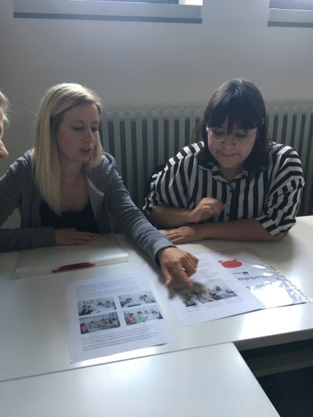 Tanja and Laura explain their special material...