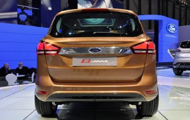 2019 Ford B-Max rear view