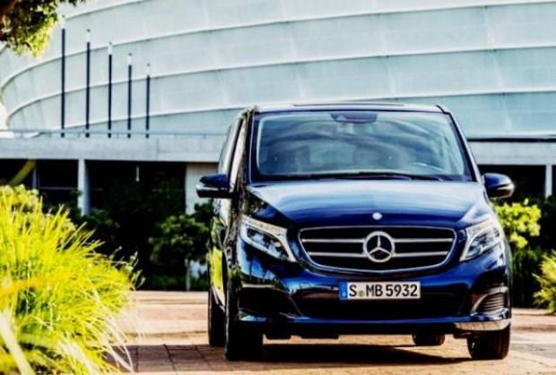 2019 Mercedes-Benz V-class front view
