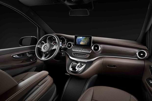 2019 Mercedes-Benz V-class interior