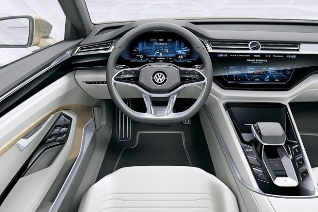 2019 VW Sharan interior
