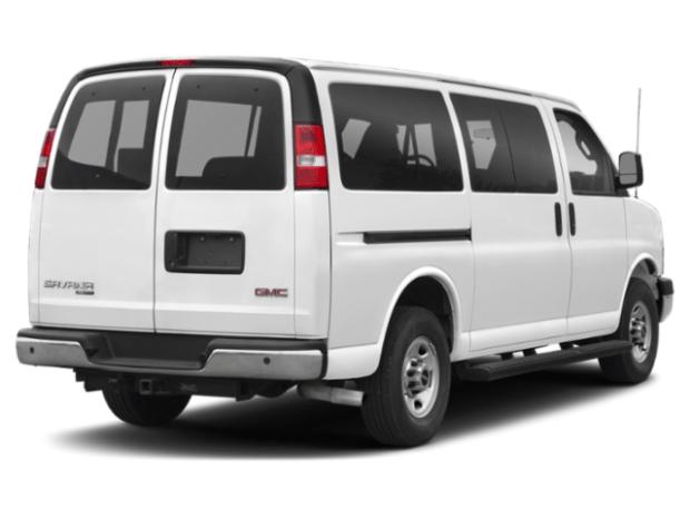 2019 gmc savana rear view