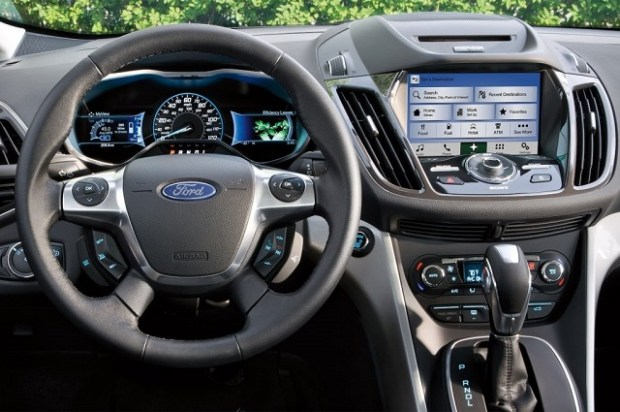 2020 Ford C-Max interior