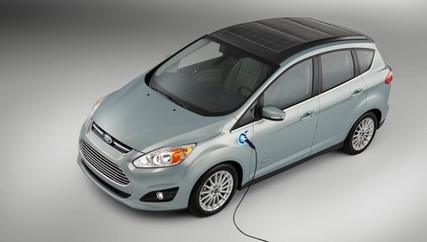 2020 Ford C-Max top view