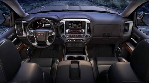 2020 GMC Savana interior