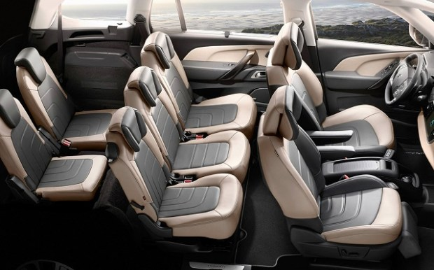 2020 Citroen C4 Grand Picasso interior