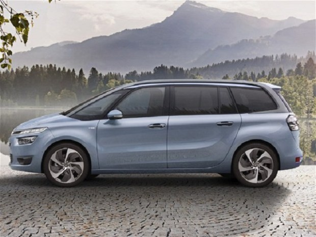 2020 Citroen C4 Grand Picasso side view
