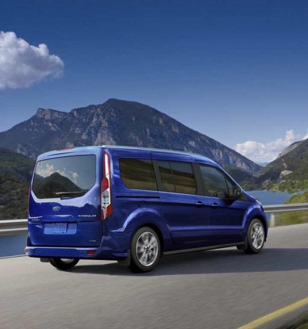2020 Ford Transit Wagon rear view