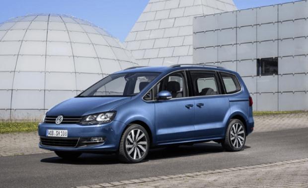 2020 VW Sharan front view