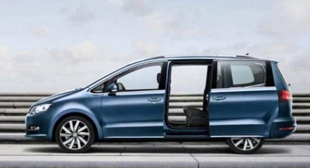 2020 VW Sharan side view