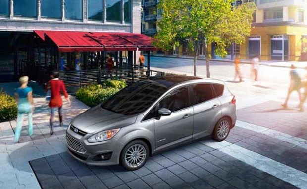 2020 ford c max solar energi front view