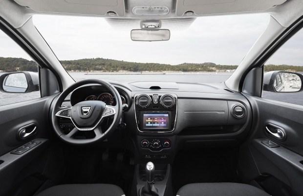 2019 Dacia Dokker MPV interior