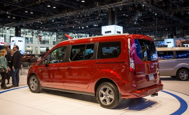 2019 Ford Transit Connect rear view