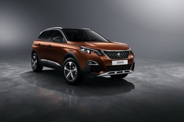 2019 Peugeot 3008 front view