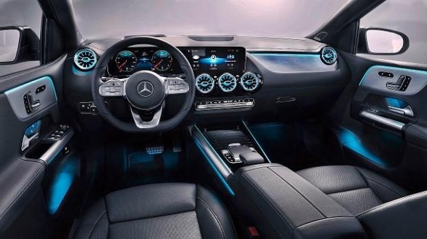 2019 Mercedes-Benz B class interior