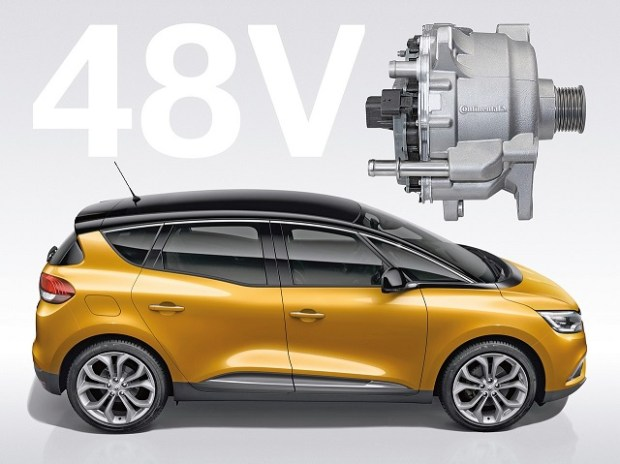 2019 Renault Scenic side view