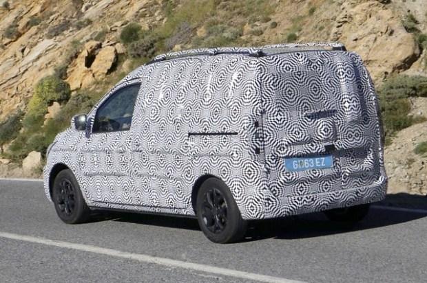 2020 Dacia Dokker spy shot