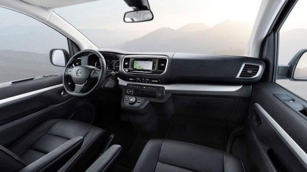 Opel Zafira Interior