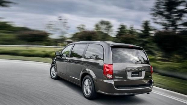 2021 Dodge Grand Caravan rear